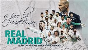 CLB Real Madrid tung trailer của bộ phim về chiến tích Undecima
