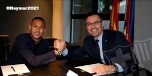 Neymar chính thức gia hạn hợp đồng khủng cùng Barcelona