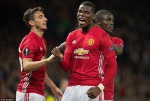 Paul Pogba nói gì khi được Rooney nhường quyền đá phạt đền