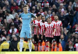 Tổng hợp: Man City 1-1 Southampton (Vòng 9 NHA 2016/17)