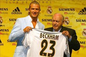 Beckham phủ nhận tin đồn trở lại Real Madrid