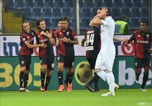 Tổng hợp: Genoa vs 3-0 AC Milan (Vòng 10 Serie A 2016/17)