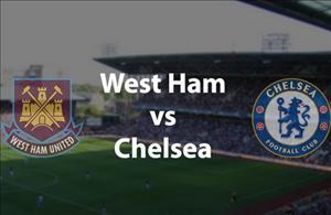 TRỰC TIẾP West Ham vs Chelsea 01h45 ngày 27/10 (Cúp Liên đoàn Anh 2016/17)