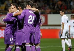 Leonesa 1-7 Real Madrid: Không cần BBC, Los Blancos vẫn dễ dàng bắt nạt nhược tiểu