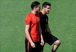 Saul Niguez chỉ rời Atletico nếu Simeone ra đi