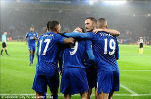 Tổng hợp: Leicester 4-2 Man City (Vòng 15 NHA 2016/17)