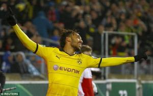 Video clip bàn thắng: Stuttgart 1-3 Dortmund (Cúp Quốc gia Đức)
