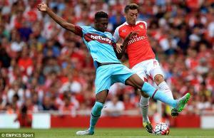 Mourinho nhắm tiền vệ trẻ tài năng của West Ham