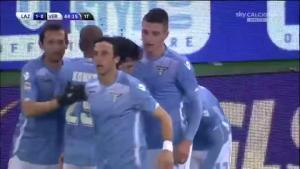Video clip bàn thắng: Lazio 5-2 Hellas Verona (Vòng 25 Serie A 2015/16)