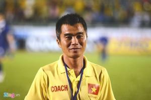 HLV Minh Duc tin nhieu cau thu Viet du suc ghi ban nhu Ronaldo