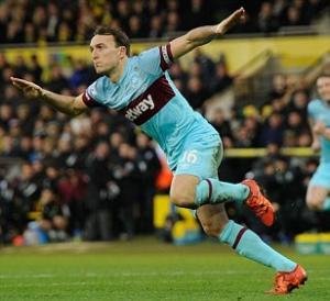Video clip bàn thắng: Norwich City 2-2 West Ham (Vòng 26 Ngoại hạng Anh 2015/16)