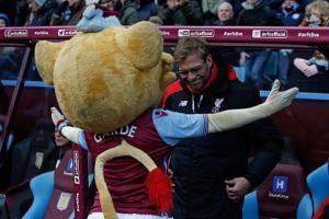Klopp bày tỏ sự tôn trọng đáng mến mộ với Aston Villa
