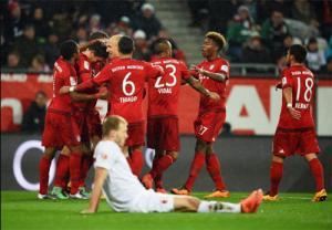 Video clip bàn thắng: Augsburg 1-3 Bayern Munich (Vòng 21 Bundesliga 2015/2016)