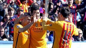 Levante 0-2 Barca: Enrique giờ đã vĩ đại như Guardiola