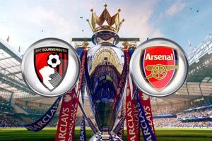 TRỰC TIẾP Bournemouth vs Arsenal trận đấu vòng 25 Ngoại hạng Anh NHA 2015/2016 20h30 ngày 7/2