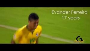 14 tài năng trẻ triển vọng nhất bóng đá Brazil hiện nay