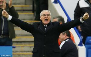 HLV Ranieri sẽ được thưởng bao nhiêu nếu giúp Leicester vô địch?