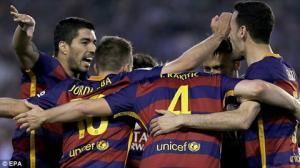 Video clip bàn thắng: Real Betis 0-2 Barca (Vòng 36 La Liga 2015/2016)