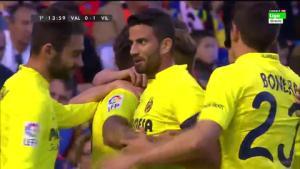 Video clip bàn thắng: Valencia 0-2 Villarreal (Vòng 36 La Liga 2015/2016)