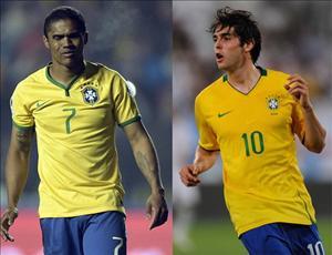Thiên thần Kaka bất ngờ có mặt ở tuyển Brazil dự Copa America 2016