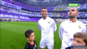 Ronaldo ưỡn ẹo trước trận Real Madrid 1-0 Man City