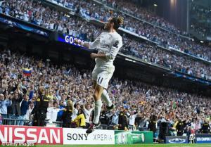 Video clip bàn thắng: Real Madrid 1-0 Man City (Lượt về bán kết Champions League 2015/2016)