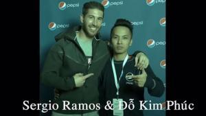 VĐV bóng đá nghệ thuật Đỗ Kim Phúc đọ tài với ngôi sao Sergio Ramos