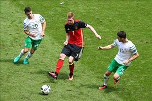 Thấy gì sau chiến thắng của Bỉ trước CH Ireland