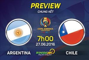 Argentina vs Chile (7h00 ngày 27/6): Cứu rỗi 1 thế hệ