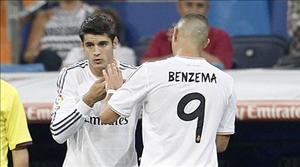 Morata đủ sức đánh bật Benzema