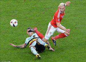 Xứ Wales mất vua kiến tạo Ramsey ở trận bán kết với BĐN