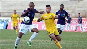 Tổng hợp: Hà Nội T&T 1-0 SLNA (Vòng 17 V-League 2016)