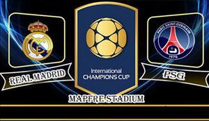 Video clip bàn thắng: Real Madrid 1-3 PSG (ICC 2016)