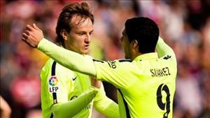 Barca lên kế hoạch trói chân Suarez và Rakitic