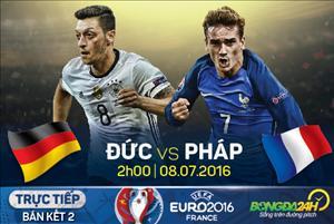 LINK XEM trực tiếp trận đấu Đức vs Pháp 02h00 ngày 8/7