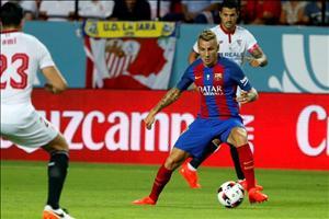 Tân binh Barca hết lời khen ngợi Messi