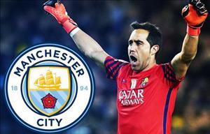 Man City CHÍNH THỨC chiêu mộ thủ môn Claudio Bravo