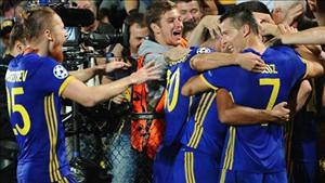 Tổng hợp: Rostov 4-1 Ajax (Playoff Champions League 2016/17)