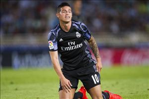 James Rodriguez chuẩn bị có trận đấu cuối cùng cho Real?