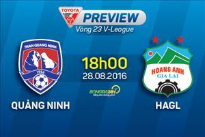 Than Quảng Ninh vs HAGL (18h ngày 28/8): Đất Mỏ dậy sóng