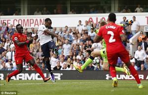 Hậu vệ Danny Rose gỡ hòa (Tottenham vs Liverpool)