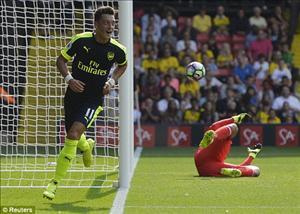 Tổng hợp: Watford 1-3 Arsenal (Vòng 3 Ngoại hạng Anh 2016/17)