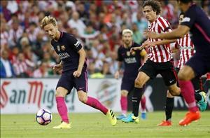 Sao Barca thở phào sau khi thoát phạt đền trước Bilbao