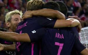 Tổng hợp: Bilbao 0-1 Barca (Vòng 2 La Liga 2016/17)