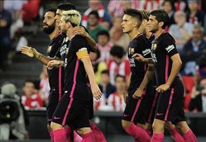 Xem lại trận đấu Bilbao 0-1 Barca (Vòng 2 La Liga 2016/17)