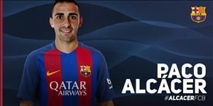 Những điều cần biết về Paco Alcacer, tân binh mới nhất của Barca