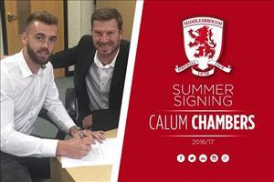 Calum Chambers chính thức rời Arsenal theo dạng cho mượn