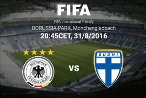 Đức 2-0 Phần Lan: Thắng nhẹ trong ngày chia tay Schweinsteiger
