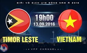 U19 Việt Nam 4-1 U19 Đông Timor (KT): Chiến thắng giải tỏa