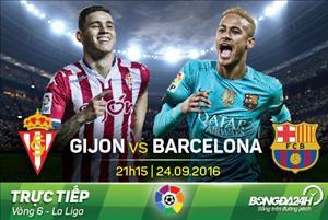 Gijon 0-5 Barca (KT): Không Messi, vẫn có bàn tay nhỏ